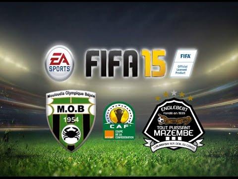 FIFA 15 Gameplay  MO Bejaia vs TP Mazembe