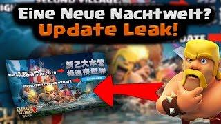 Clash of Clans | Eine neue Nachtwelt? Update Leak! | Reazor [Deutsch/German|HD]
