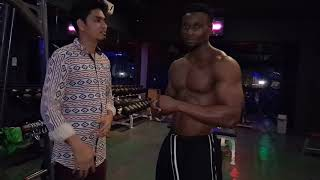 TANZANIA BODY BUILDER WITH INDIAN