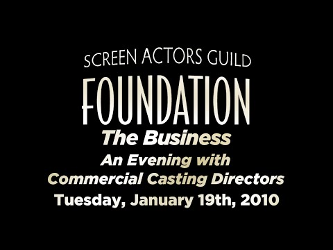 The Business: An Evening with Commercial Casting Directors