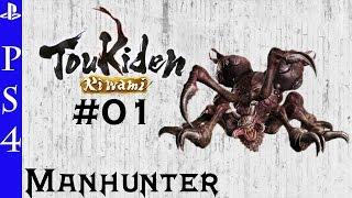 Toukiden Kiwami / Mission: Slay The Manhunter / Oni Manhunter / PS4 Español / Gameplay 01