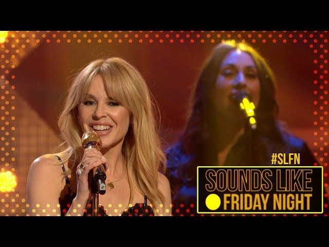 Kylie Minogue - Stop Me From Falling (on Sounds Like Friday Night)
