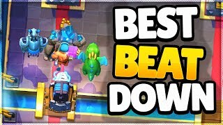GOLEM SPARKY = BEST BEATDOWN DECK in CLASH ROYALE?!