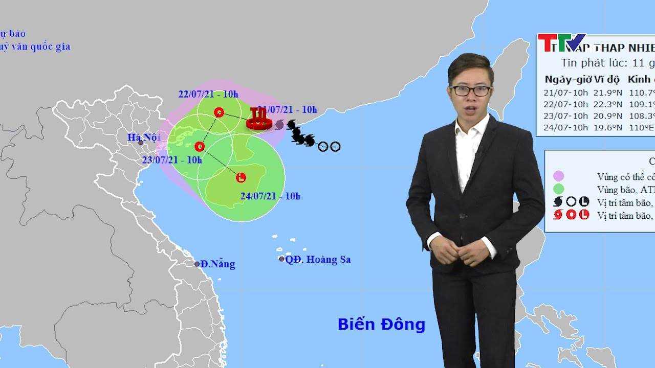 Bão số 3 vào Trung Quốc, miền Bắc có mùa vừa đến mưa to   Dự báo thời tiết đêm 21 ngày 22-7   Thông tin thời tiết hôm nay và ngày mai