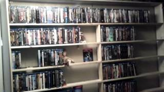 Bluray Shelving Unit Holds Over 1200 Movies