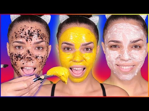 Ultimate DIY Face Mask + DIY Face Scrub for Dry Skin, Oily Skin, Acne, Clear Skin