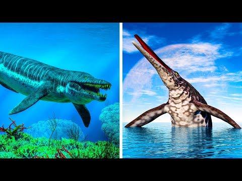 Los 10 dinosaurios marinos más grandes que existieron en la Tierra