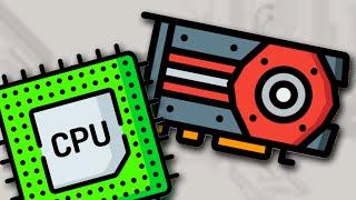 Почему видеокарта и процессор не могут заменить друг друга