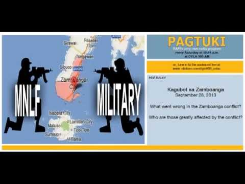Sept. 28, 2013 Pagtuki - Conflict in Zamboanga (Part 1)