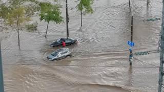 Потоп на Горецкого 3, Минск, 03.07.2016