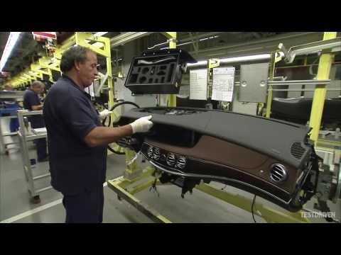 Mercedes S-Class Production, Sindelfingen, 2013 - Part 1