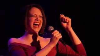 EMILY SCHULTHEIS singing NEW YORK, DO YOU CARE by Carner & Gregor - 54 Below, April 1, 2014