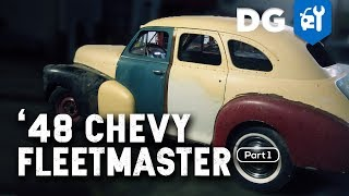 CLASSIC CAR RESTORATION: '48 Chevy Fleetmaster (Part 1)