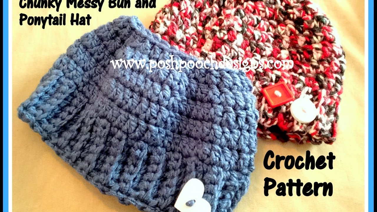 Free Crochet Hat Pattern With Ponytail Hole Awesome Design Ideas