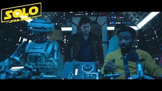 SOLO A Star Wars Story (Han Solo) New Scene Preview 8