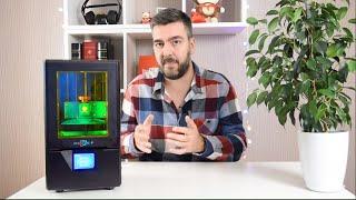 3D принтер Photon S. Сказка! Печатаем смолой. Всё о фотополимерном 3D принтере / Арстайл /