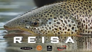 Fly Fishing For Salmon In The Reisa River | FLY FISHING ADVENTURES