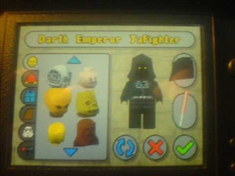 lego star wars 2 ds cheats - youtube