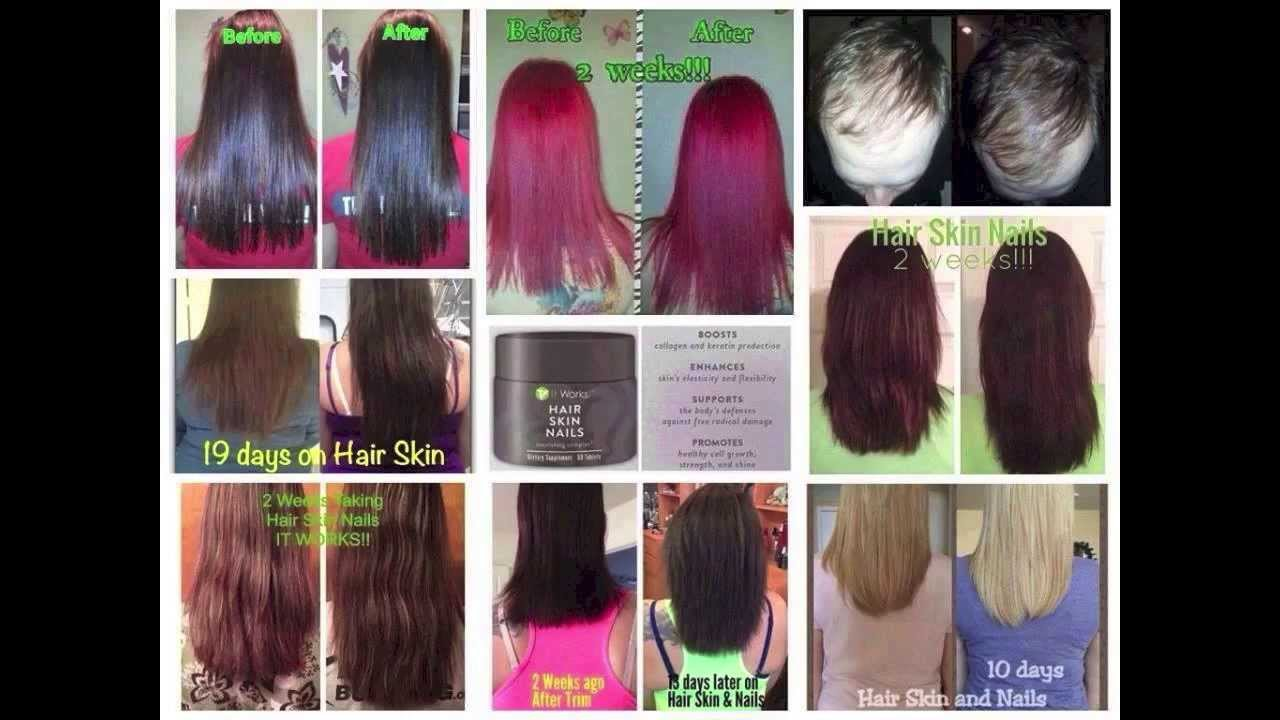 ItWorks Hair Skin Nail Review - YouTube