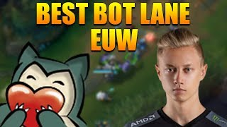 FNC Rekkles ft. Noway4u - Best Bot Lane Euw | LOL Challenger Player (Deutsch/German)