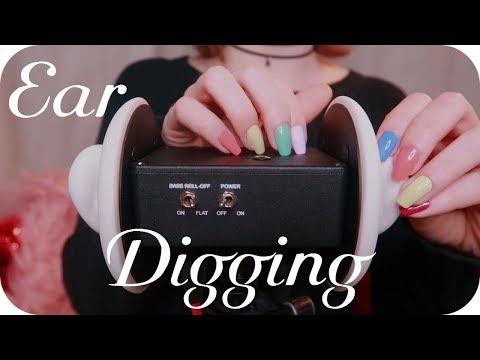 ASMR Ear Digging ⛏👂✨ (no talking)