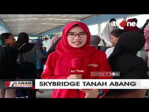 Skybridge Tanah Abang Mulai Beroperasi, Ini Kata Pedagang Mp3