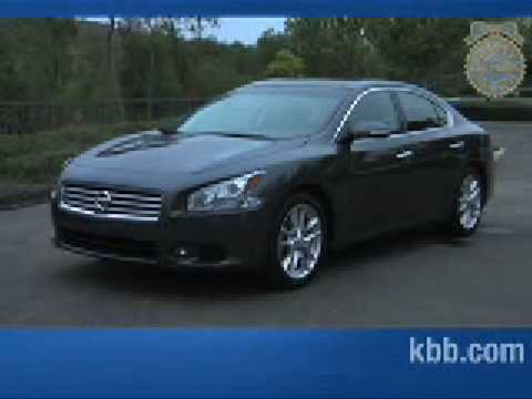 2009 Nissan Maxima Review Kelley Blue Book
