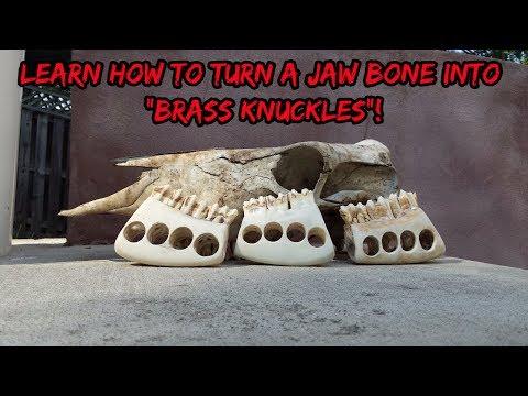 Jaw Bone Knuckles DIY