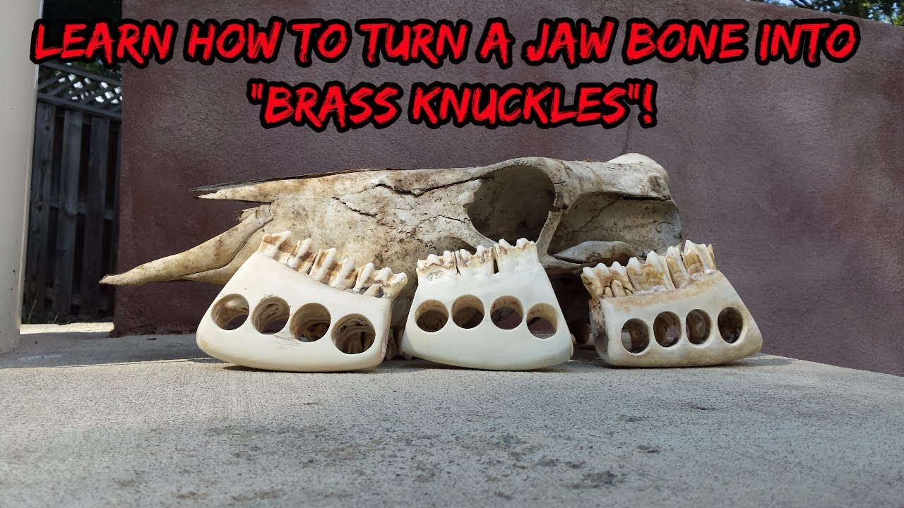 Jaw Bone Knuckles Diy Youtube
