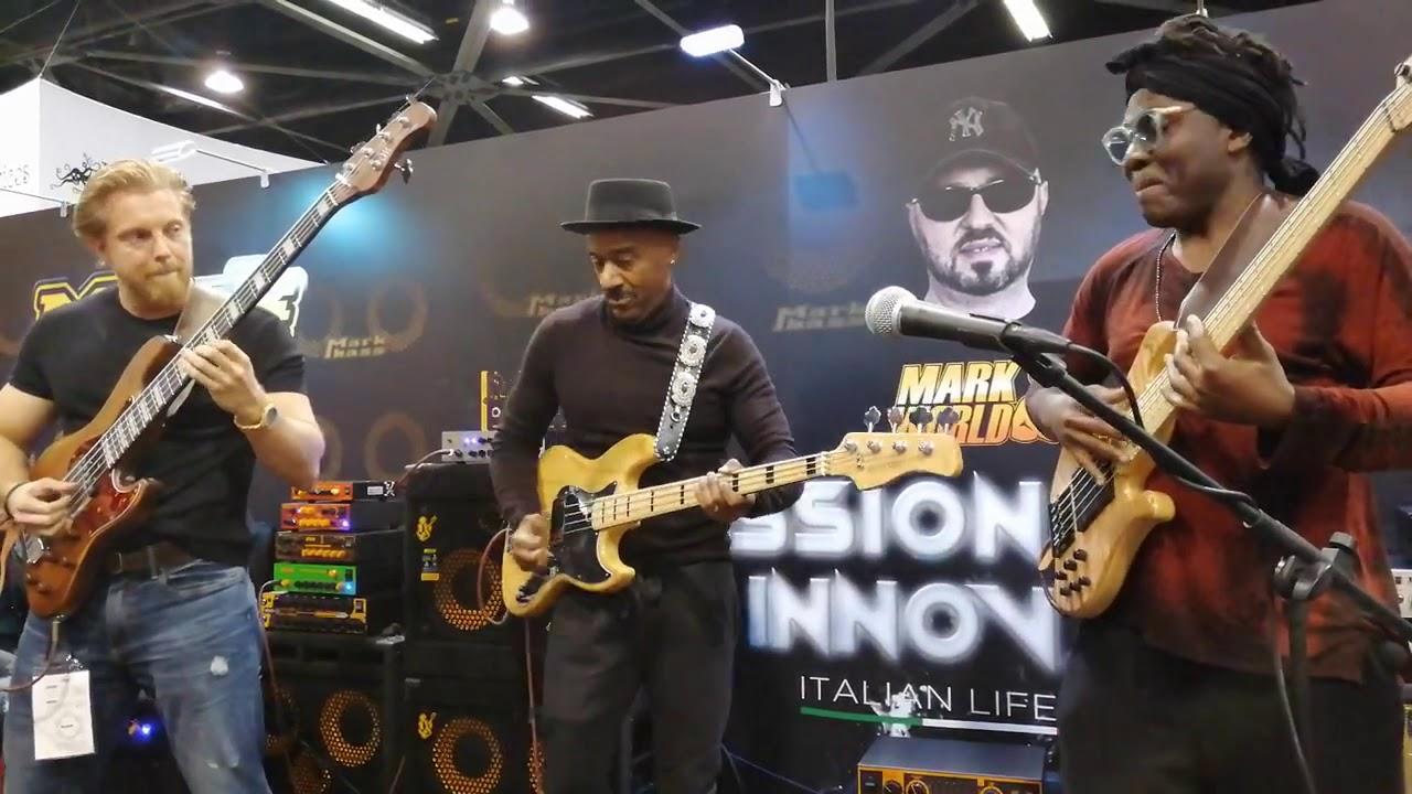 Marcus Miller | Richard Bona | Hadrien Feraud | NAMM 2019
