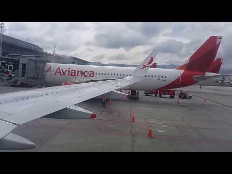 AVIANCA A320  Vuelo completo Bogota - Pereira 27 FEBRERO 2017