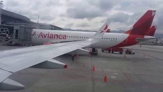 AVIANCA A320 !PASTOR 1!!  Vuelo completo Bogota - Pereira 27 FEBRERO 2017 !! AVIÓN DEL PAPA!!!