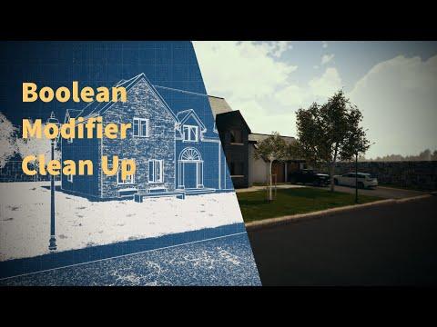 Boolean Modifier Clean Up