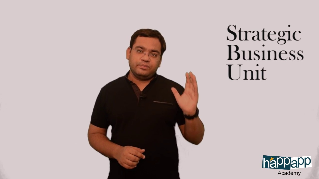 Download Strategic Business unit   By Rishabh Gaur   Happapp Academy