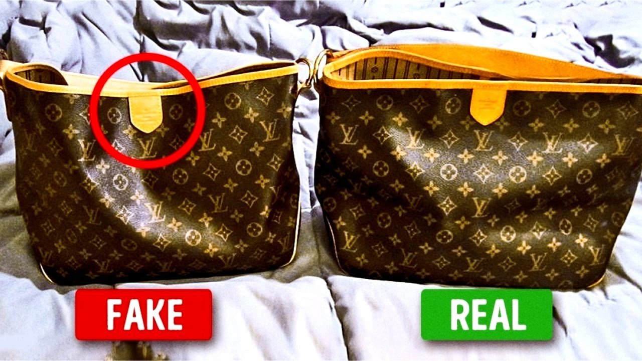 4dab25f122c How to Spot a Fake Designer Handbag In 7 Steps - YouTube