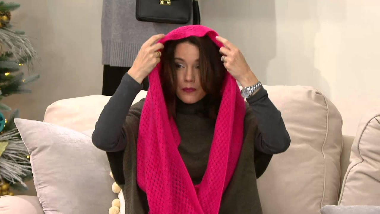 cowl s x p scarf loop skull lgrge of infinity hotpink light weiget black cashmere ebay picture