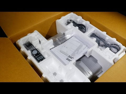 First Look Unboxing of the JVC DLA-X7000B D-ILA Projector