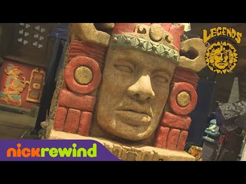 Olmec is Back! | Legends of the Hidden Temple: The Movie | The Splat