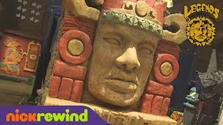Olmec is Back! | Legends of the Hidden Temple: The Movie | NickRewind