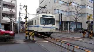 叡山電鉄で運行しているアニメ「ひだまりスケッチ」仕様の電車です。 修学院駅で撮影しました。