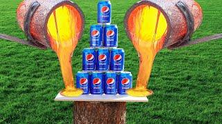 Download Experiment Coca Cola vs Mentos and Lava Mp3 and Videos