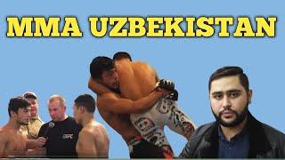 Мигранты Узбеки чемпионы  ММА..Скромный Узбек Нокаутировал.