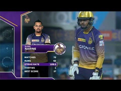 sunil narine 6 6 6 6 back to back || against glenn maxwell