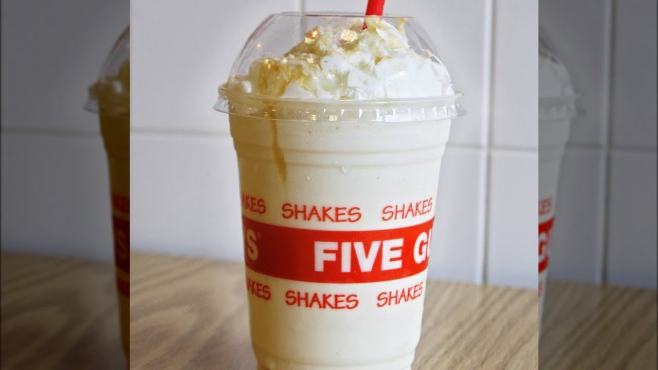 The Thing You Should Always Ask For In Your Five Guys Shake Youtube