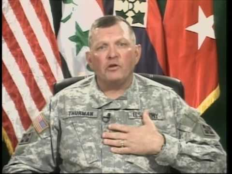 OASD: DOD NEWS BRIEFING WITH MAJ. GEN. THURMAN FROM IRAQ (SE