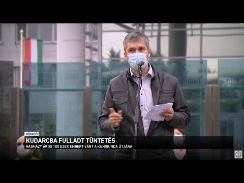 Kudarcba fulladt tüntetés thumbnail