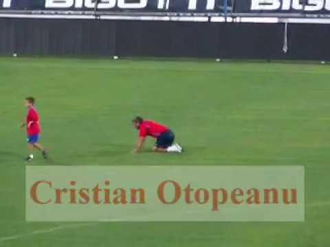 """Imagini senzationale: Ianis Hagi si Gica Hagi pe """"Steaua"""" (2007). VIDEO: Cristian Otopeanu"""