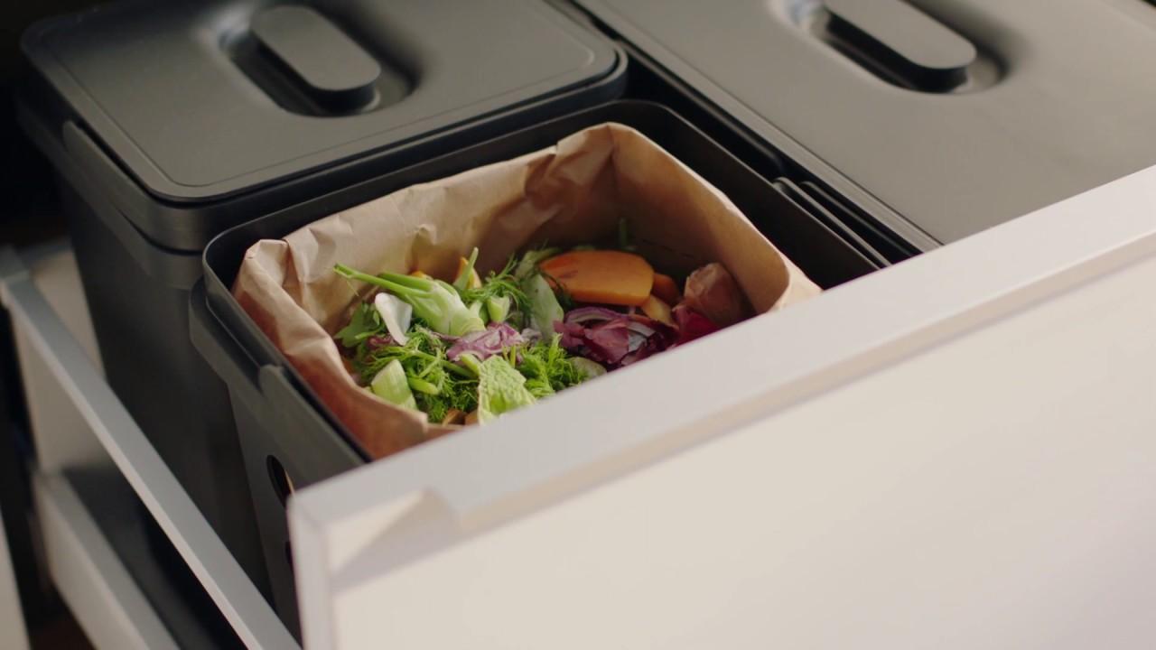 IKEA - Wenig Aufwand für eine nachhaltige Küche - YouTube