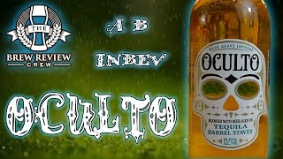 AB-InBev Oculto Tequila Lager: Worst Beer on Planet Earth! Insultingly Bad! -BRC Craft Beer Reviews