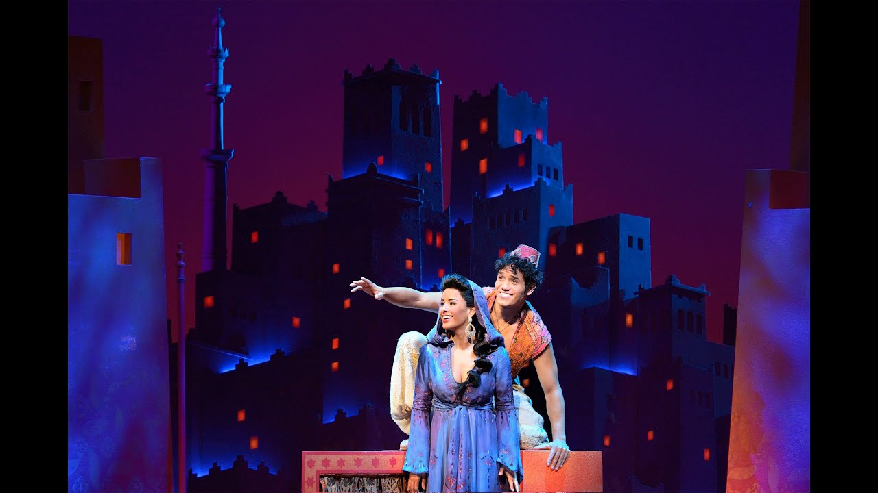 """Review of Disney's """"Aladdin"""" at The New Amsterdam Theatre ..."""